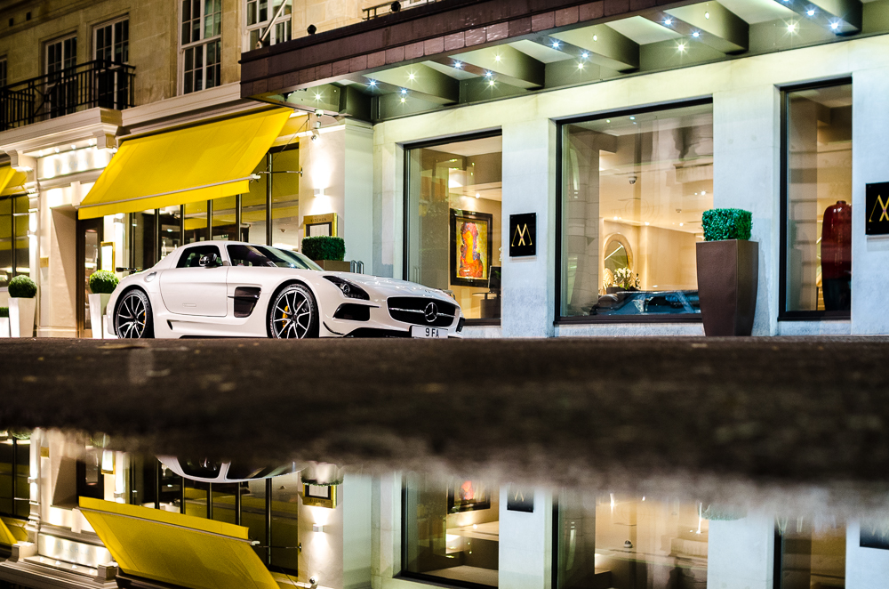 Cars - Mercedes Benz SLS Black Series
