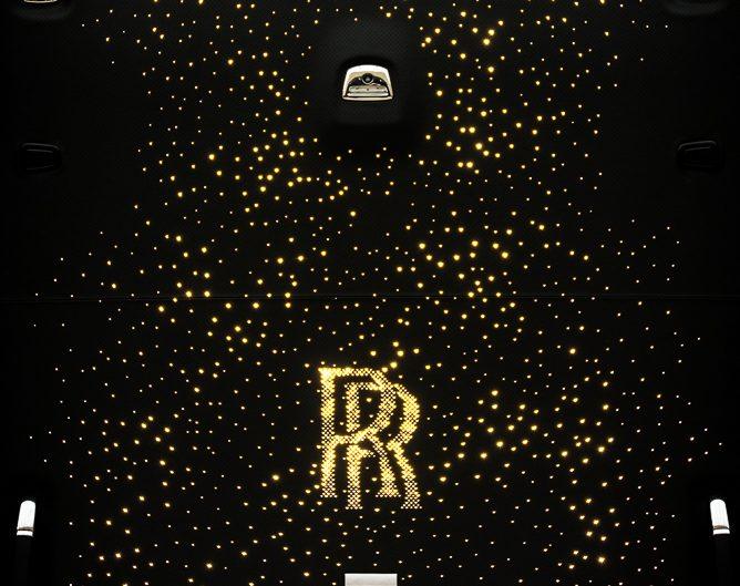 Cars - Rolls Royce Wraith ceiling interior