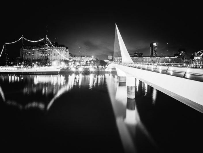 Cities - Puente de la Mujer in Puerto Madero, Buenos Aires - by Calatrava