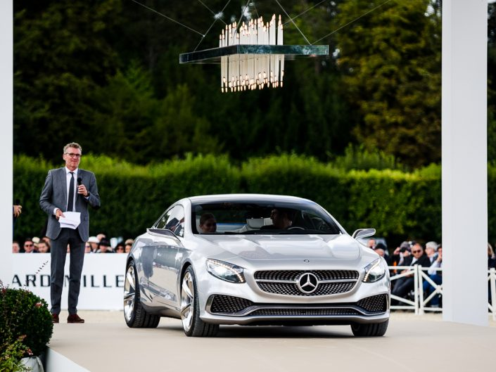 Mercedes Benz S Coupé Concept during Chantilly Arts & Elegance Richard Mille 2015