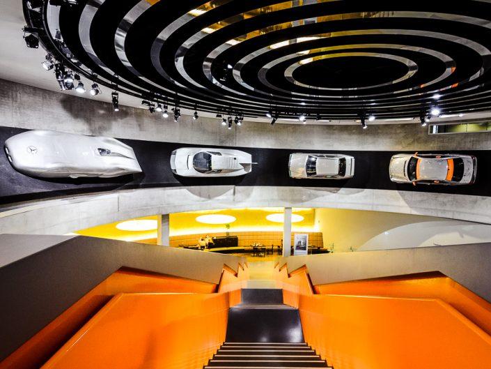 Mercedes Museum in Stuttgart - Germany