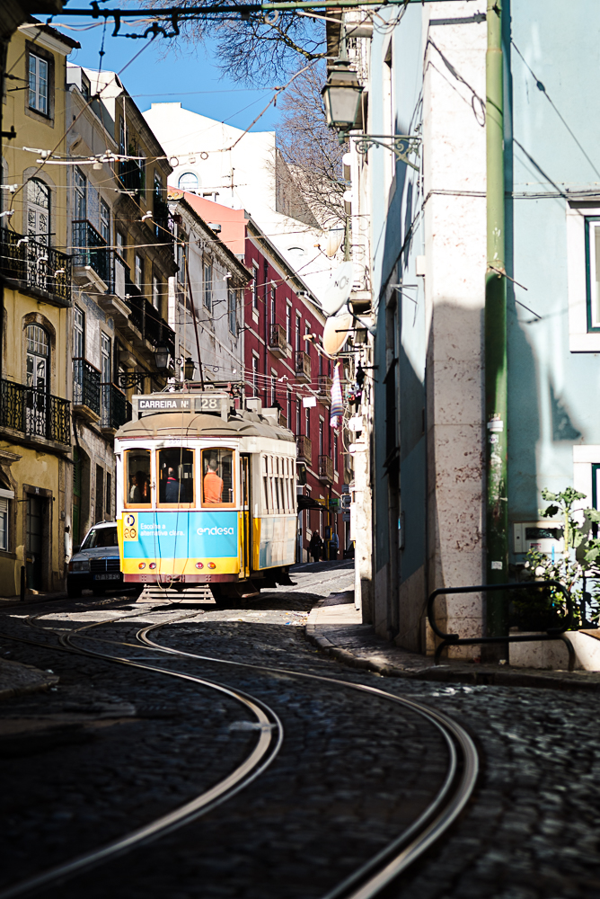 Lisbon - Tramway Alfama