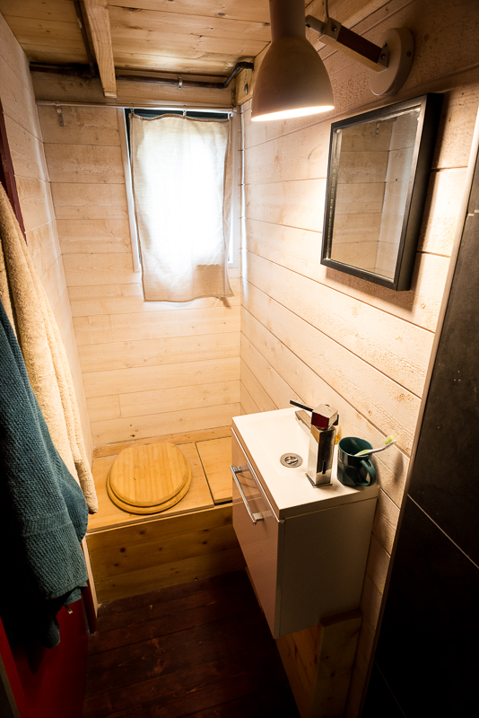 I lived in a tiny house for a week