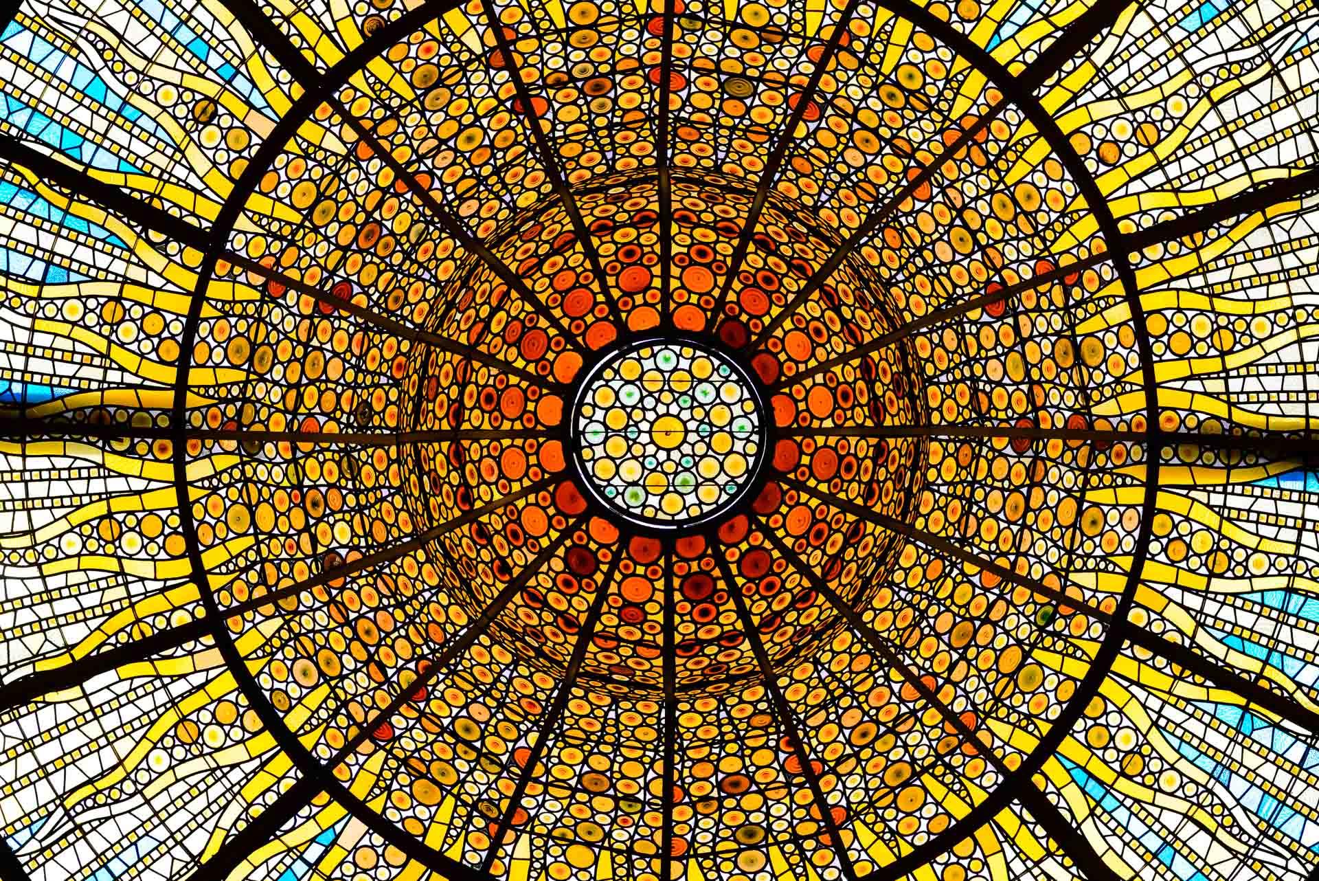 palau de musica ceiling